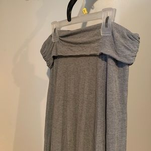 GAP Skirts - Gray Maxi Skirt (pics don't do justice!)